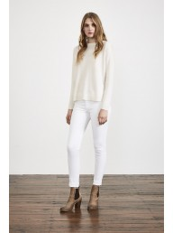 MARVAL DESIGNS - Buttons Knit White