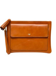 CECILY CLUNE - William Street Clutch - Tan
