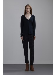 THE DREAMER LABEL - Rhea Indigo Linen Knit
