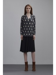 THE DREAMER LABEL - The Pleat Raindrop Blouse