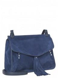 BECKSÖNDERGAARD - Alana Suede Bag Medeval Blue
