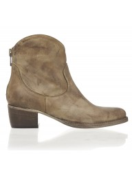 ESTILO EMPORIO - Love Zip Boot - Tan