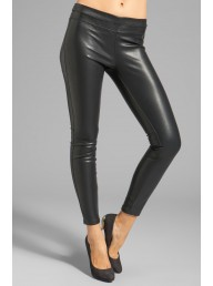 BLANKNYC - The Vegan Leather Legging - Black