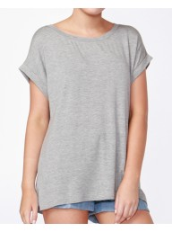 BETTY BASICS - Santiago Tee - Silver Marle