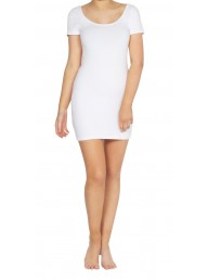 BETTY BASICS - Areatha Tee Dress - White