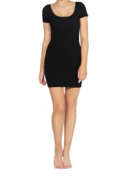 BETTY BASICS - Areatha Tee Dress - Black