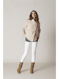 BINNY - The Roller Suede Leather Jacket
