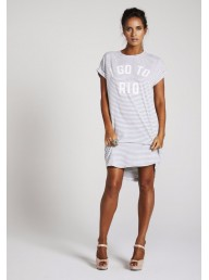 BINNY - 'Favela' Cotton Elastane T-Shirt Dress