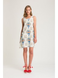 BINNY - Bernie & Jessie Linen Shift Dress
