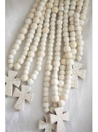 MAISON CARREE - Gypsum Rosary Pendent