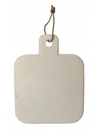 White Marble Chopping Board - 20cm x 26cm
