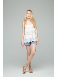 CHARLIE JOE - Gilly Top - White