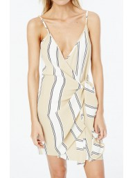 FAITHFULL THE BRAND - Kara Wrap Dress - Paradiso Stripe