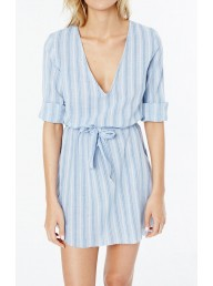 FAITHFULL THE BRAND - Le Brusc Dress - Sa Caleta Stripe