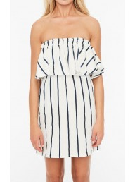 FAITHFULL THE BRAND - Camino Dress - Navy Stripe