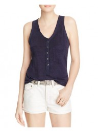 FREE PEOPLE - Traveler Tank - Navy