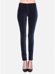 JAMES JEANS - James Twiggy Luxe Velveteen Legging Black Navy