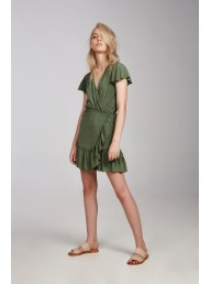 KINNEY - Tully Dress - Kale