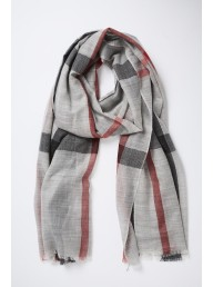 MARVAL DESIGNS - Berry Scarf Grey