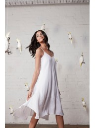 M A DAINTY - Maxwell Dress - China White