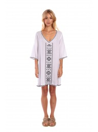 MIST - Astri Dress - White/Black