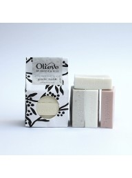 OLIEVE & OLIE  - Hand Made Bar Soap 3 Pack - Bergamot & Charcoal