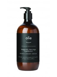 OLIVE & OLIE - Hand and Body Cream - Bergamot, Clary Sage & Geranium 200ml