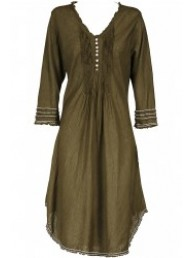 ONESEASON - Middy Poppy Dress - Khaki