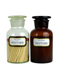 PLAIN & SIMPLE - Apothecary Matches - Amber