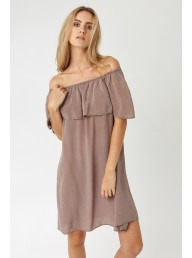 PRIMNESS - Cruz Dress Driftwood