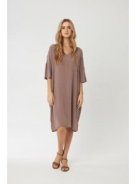 PRIMNESS - Pocket Dress Driftwood