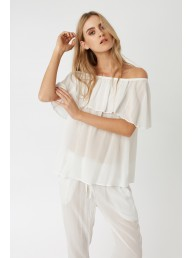 PRIMNESS - Cruz Top Blanc