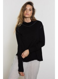 PRIMNESS - Knit Jumper - Noir