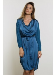 PRIMNESS - Helio Cowl Dress
