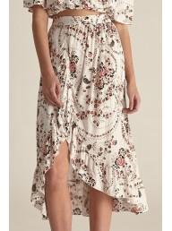 STEELE - Margo Skirt - White Florete