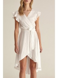 STEELE - Olivia Dress White