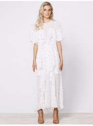 STEVIE MAY - Cosmic Currents Maxi Dress
