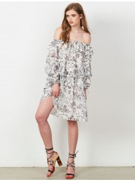 STEVIE MAY - The Cloudy Day Mini Dress