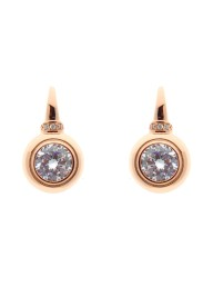 SYBELLA - Rose Gold Plate Cubic Zirconia Earrings on Sybella Hook