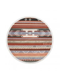 THE BEACH PEOPLE  - The Bedouin Round Beach Towel
