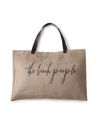 THE BEACH PEOPLE - Jute Bag Original