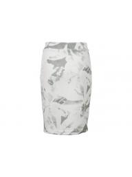 YAYA - Floral Printed Sweat Skirt