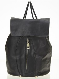 ESTILO EMPORIO  - Love Zip Backpack - Black