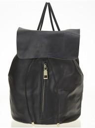 ESTILO EMPORIO  - Love Zip Backpack - Black